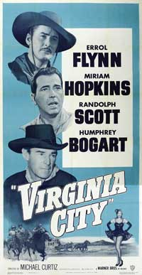 Virginia City - 20 x 40 Movie Poster - Style A