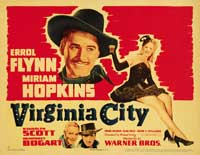 Virginia City - 11 x 14 Movie Poster - Style B