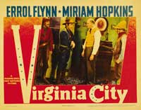 Virginia City - 11 x 14 Movie Poster - Style F
