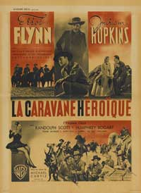 Virginia City - 27 x 40 Movie Poster - French Style D