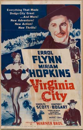 Virginia City - 27 x 40 Movie Poster - Style F