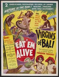 Virgins of Bali - 27 x 40 Movie Poster - Style A