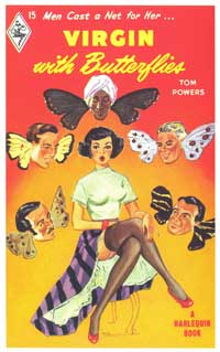 Virgins with Butterfly Eyes - 11 x 17 Retro Book Cover Poster