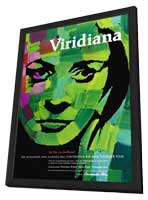 Viridiana - 11 x 17 Movie Poster - German Style B - in Deluxe Wood Frame