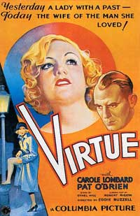Virtue - 11 x 17 Movie Poster - Style B