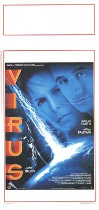 Virus - 13 x 28 Movie Poster - Italian Style A