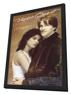 Vision Quest - 11 x 17 Movie Poster - Style A - in Deluxe Wood Frame