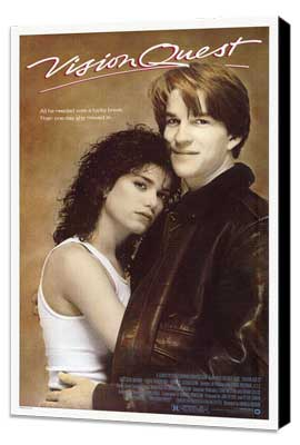 Vision Quest - 27 x 40 Movie Poster - Style A - Museum Wrapped Canvas