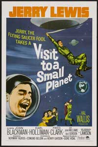 Visit to a Small Planet - 27 x 40 Movie Poster - Style B