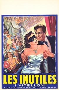 Vitelloni, I - 11 x 17 Movie Poster - Belgian Style A