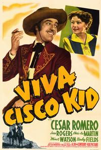 Viva Cisco Kid - 11 x 17 Movie Poster - Style A