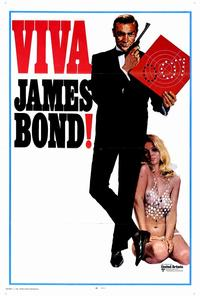Viva James Bond - 27 x 40 Movie Poster - Style A