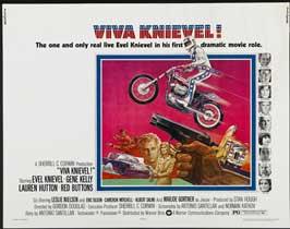 Viva Knievel - 22 x 28 Movie Poster - Style A