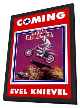 Viva Knievel - 11 x 17 Movie Poster - Style A - in Deluxe Wood Frame