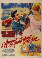 Viva Las Vegas - 27 x 40 Movie Poster - French Style A