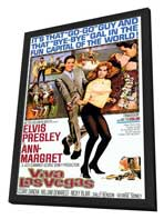Viva Las Vegas - 11 x 17 Movie Poster - Style A - in Deluxe Wood Frame