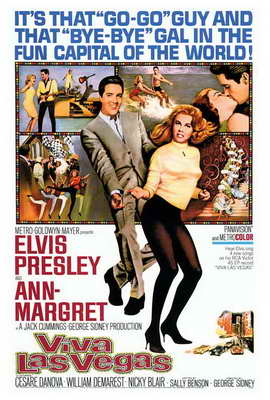 Viva Las Vegas - 27 x 40 Movie Poster