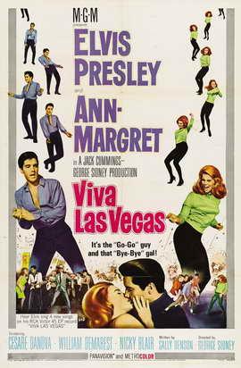 Viva Las Vegas - 11 x 17 Movie Poster - Style B