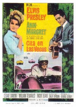 Viva Las Vegas - 11 x 17 Movie Poster - Spanish Style A