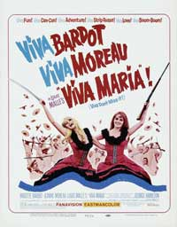 Viva Maria! - 27 x 40 Movie Poster - Style D