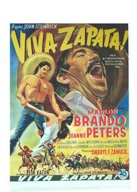 Viva Zapata! - 14 x 22 Movie Poster - Belgian Style A