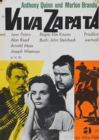 Viva Zapata! - 11 x 17 Movie Poster - German Style A