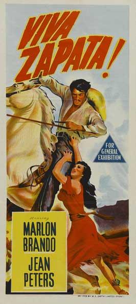 Viva Zapata! - 13 x 30 Movie Poster - Australian Style A