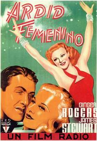 Vivacious Lady - 11 x 17 Movie Poster - Spanish Style A