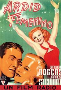 Vivacious Lady - 27 x 40 Movie Poster - Spanish Style A