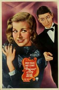 Vivacious Lady - 11 x 14 Movie Poster - Style C