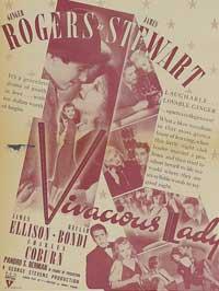 Vivacious Lady - 11 x 17 Movie Poster - Style C
