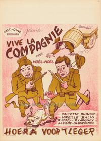 Vive la compagnie - 27 x 40 Movie Poster - Belgian Style A
