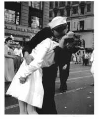 VJ VE Day Times Square Kiss - Photography Poster - 16 x 20 - Style A