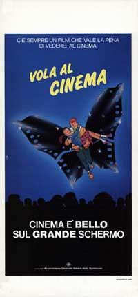 Vola al Cinema - 13 x 28 Movie Poster - Italian Style A