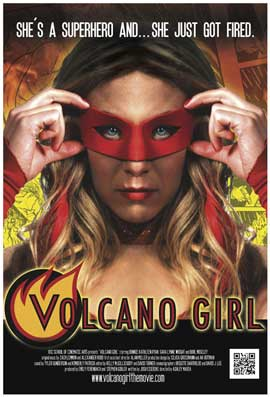 Volcano Girl - 11 x 17 Movie Poster - Style A