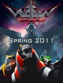 Voltron Force (TV) - 11 x 17 TV Poster - Style A