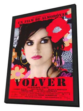 Volver - 11 x 17 Movie Poster - Spanish Style A - in Deluxe Wood Frame