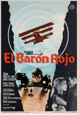Von Richthofen and Brown - 11 x 17 Movie Poster - Spanish Style A