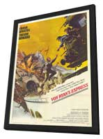 Von Ryan's Express - 11 x 17 Movie Poster - Style A - in Deluxe Wood Frame