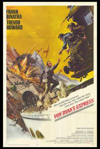 Von Ryan's Express - 27 x 40 Movie Poster - Style A