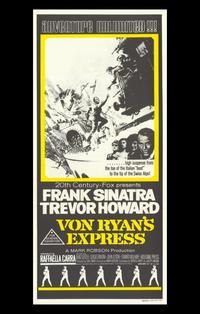 Von Ryan's Express - 11 x 17 Movie Poster - Style C