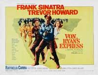 Von Ryan's Express - 22 x 28 Movie Poster - Half Sheet Style A