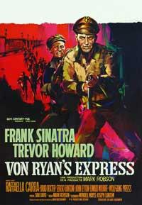 Von Ryan's Express - 27 x 40 Movie Poster - Belgian Style A