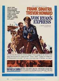 Von Ryan's Express - 11 x 17 Movie Poster - Style D