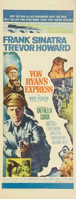 Von Ryan's Express - 14 x 36 Movie Poster - Insert Style A
