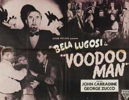 Voodoo Man - 11 x 17 Movie Poster - Style B