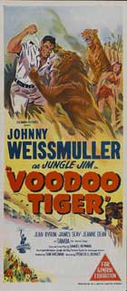 Voodoo Tiger - 13 x 30 Movie Poster - Australian Style A