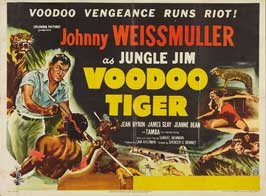 Voodoo Tiger - 22 x 28 Movie Poster - Half Sheet Style A