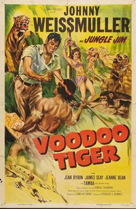 Voodoo Tiger - 27 x 40 Movie Poster - Style A