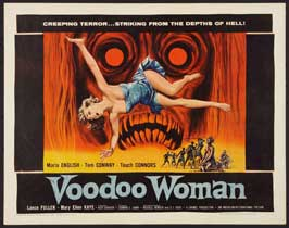 Voodoo Woman - 22 x 28 Movie Poster - Half Sheet Style A